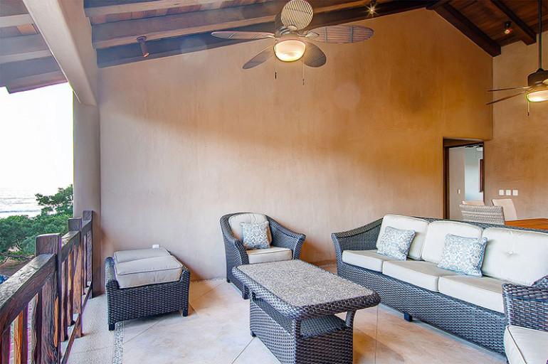 Villas Troncones Beach Houses Villa Three Family Room Patio