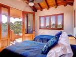 Villas Troncones Villa One Double Twin Bedroom with Troncones Beach and Ocean View
