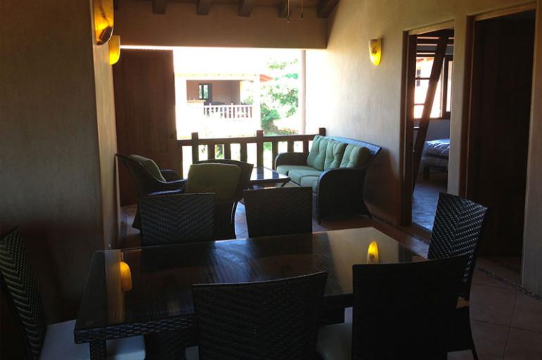 Villas Troncones Beach House Dining room