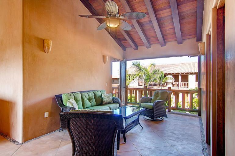 Villas Troncones Villa Eight Living Room Patio Pool