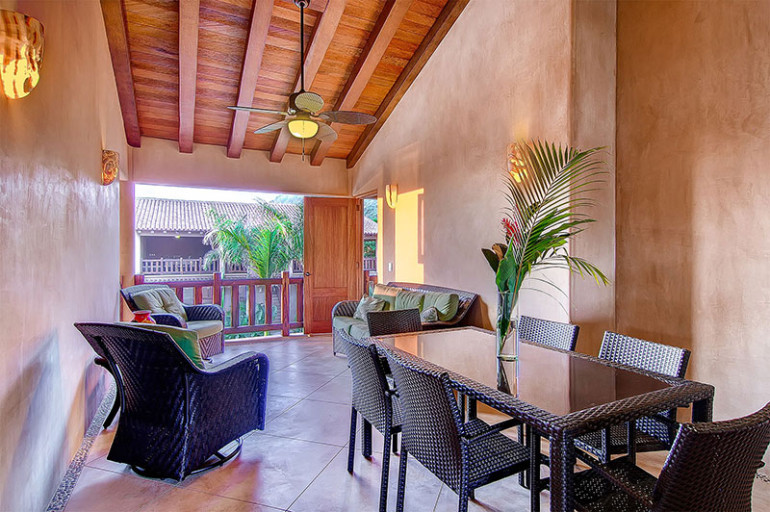 Villas troncones dining living room bikram yoga