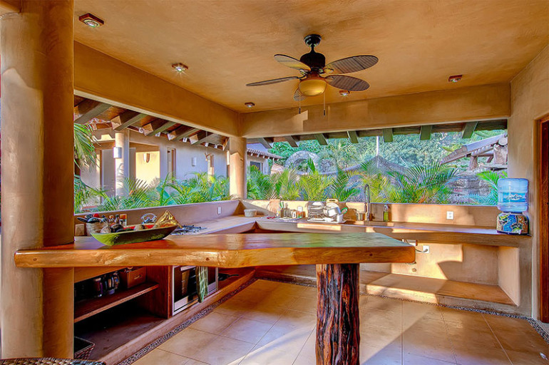 Villas Troncones Villa Six Kitchen Unique Vacations