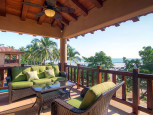 Villas Troncones Villa One Upstairs Patio Living Room Troncones Beach and Ocean View