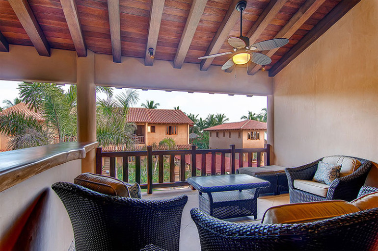 Villas Troncones Beach Houses Villa Three Living Room Patio