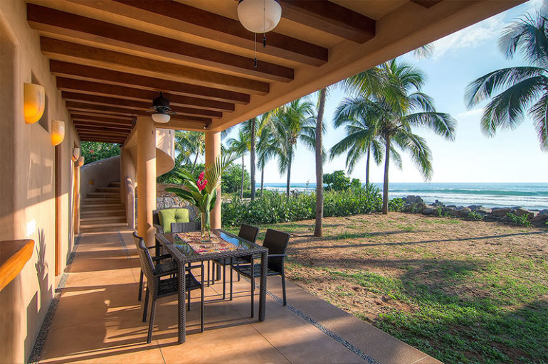 Villas Troncones Living Room Patio Beach View Ocean Luxury Retreat