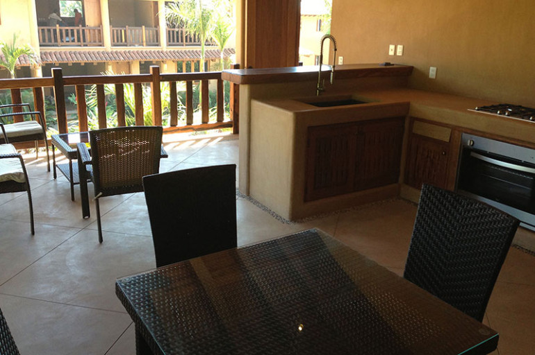 Villas Troncones Beach Houses Villa Four Kitchen patio